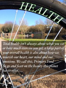Health isn't jut about what you eat, it's about everything you do.