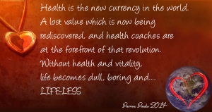 Health new currency