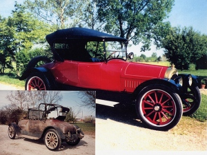 Photo: Apperson Chummy car restored by Louie Floyd Apperson